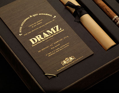 Draamz Whiskey Bar and Lounge- Identity & Branding