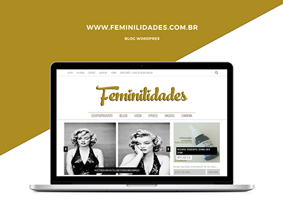 Blog Feminilidades [Wordpress]