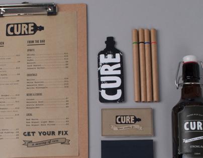 CURE BAR & RESTO - Identity