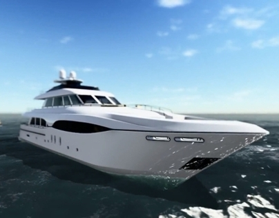 Luxury Yacht animation
