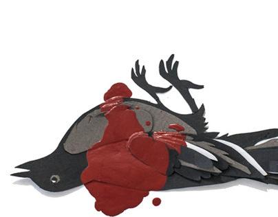 TO KILL A MOCKINGBIRD - Handmade Book Cover