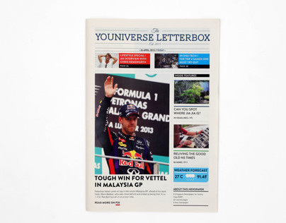 The Universe Letterbox