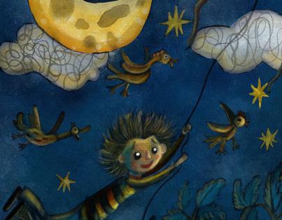 Poem children illustrations