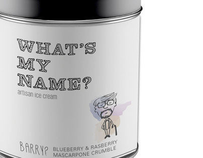 WHAT'S MY NAME? - Ice Cream Packaging