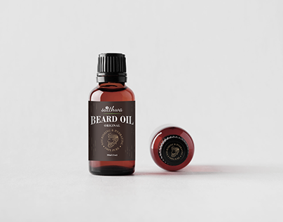 Packaging Design - Satthwa Beard Oil