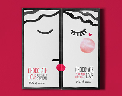 CHOCOLATE LOVE packaging concept