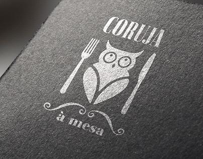 CORUJA À MESA . graphic design & social media