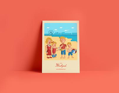 Visit Blackpool / branding + print