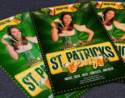 Free Saint Patricks Flyer Template