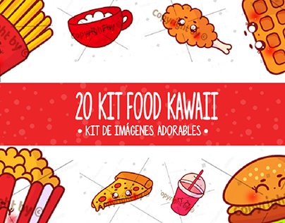 20 Kawaii Food Images In High Quality