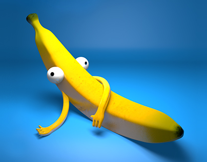 Hey Banana 3D Character Design