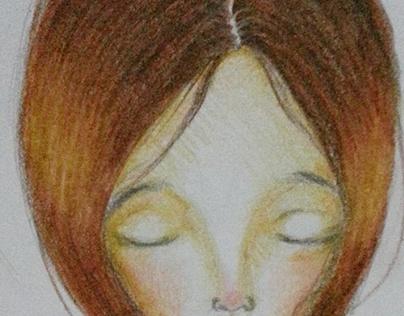Dreamer ( colored pencil )