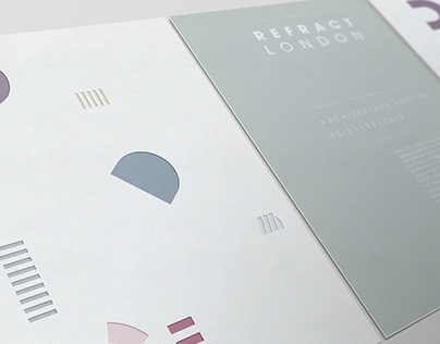 REFRACT LONDON Architecture Campaign
