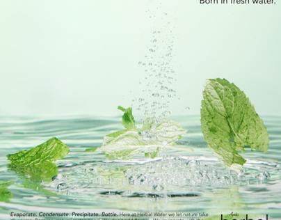 Herbal Water. (Student Work)