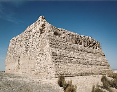 Yumen Guan, Great Wall , Yadan Landform, Dunhuang China