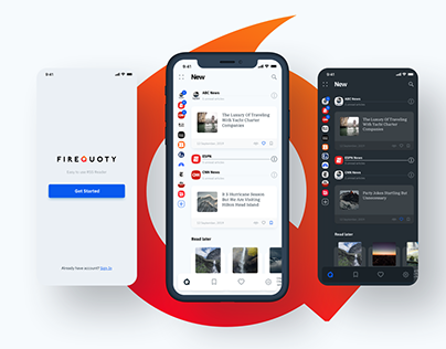 FireQuoty RSS application.