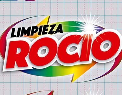 """Diseño de logo y etiquetas para Limpieza """"Rocio"""""""