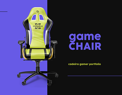 Game Chair • Cadeira Gamer
