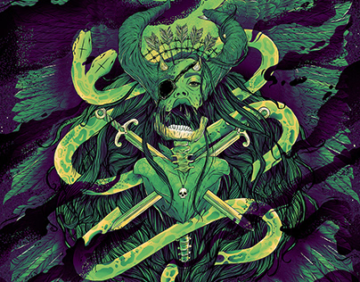 Coheed and Cambria / Mastodon Stage AE Concert Poster