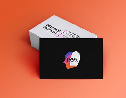 MUSEE PICASSO — Nouvelle identité