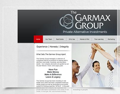 """Logo design """"Garmax Group"""""""