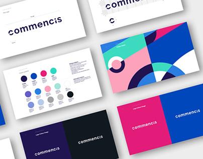 Commmencis Logo & Colour Guide