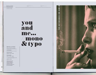 MONO&TYPO Magazine