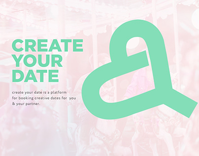 Create your date – Landing page design