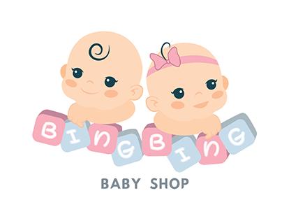 Logo for BINGBING babyshop