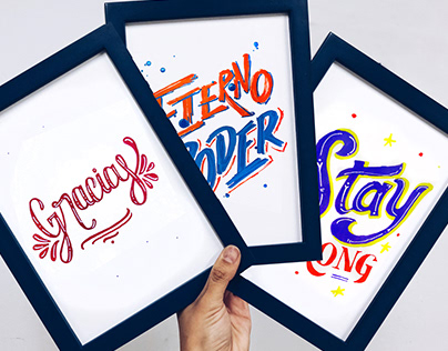 To Be Coach · Diners - Lettering Action