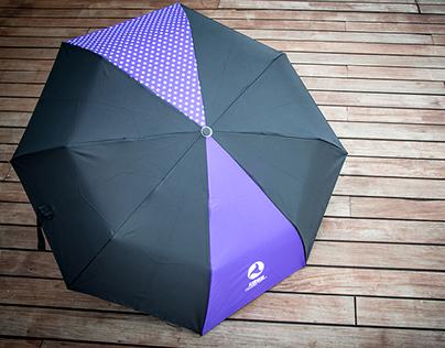 Premium: Celestial Movies Channel foldable umbrella