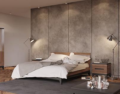 Furniture in an interior
