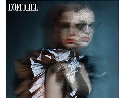 """The Strain"" Fashion Editorial for Lófficiel"