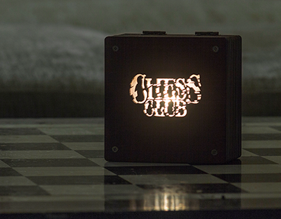 Chess Club Night Light