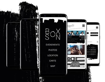 Boxson, the application