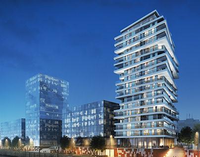 Strandkai Residential Tower