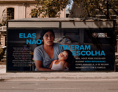 [ACNUR] Campanha Digital - Dia das Mães