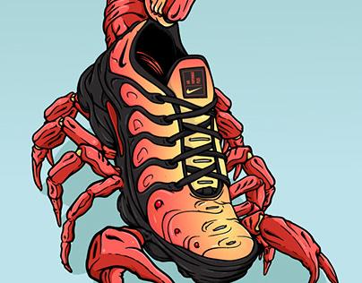 Nike Air VaporMax - Scorpion Sneaker Art