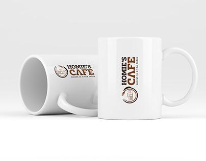 Homie's Cafe Restaurant Logo Design