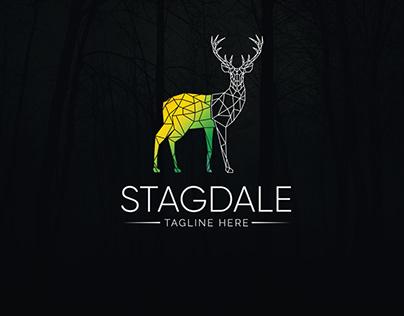 Geometric stagdale logo