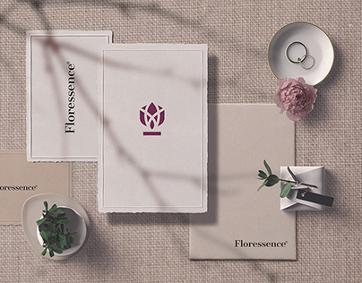 Brand Identity System for Floressence