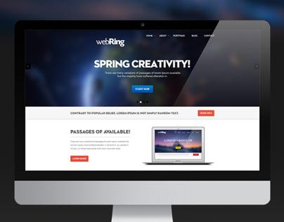 Webring Website Template