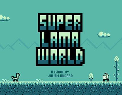 "Jeu vidéo ""Super Lama World"""