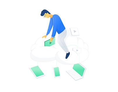 Qencode illustration