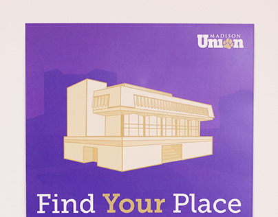 Find Your Place JMU Madison Union Advertising