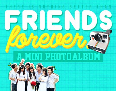Friends forever- Mini photoalbum.
