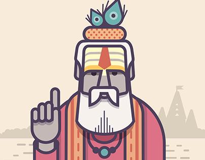 Sadhus of India