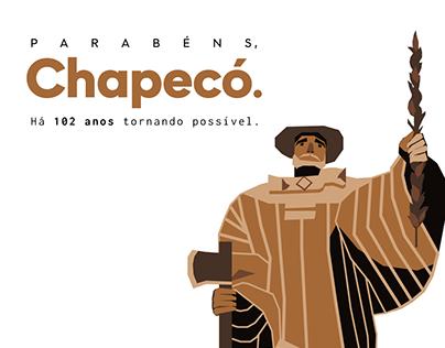 Posts - Aniversário de Chapecó