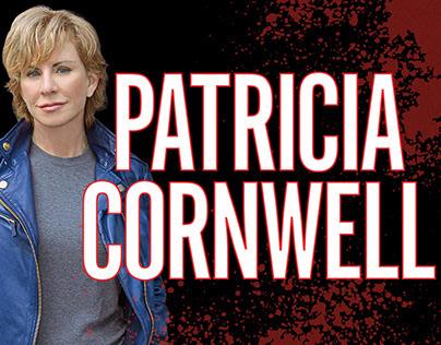 Patricia Cornwell — book advertising
