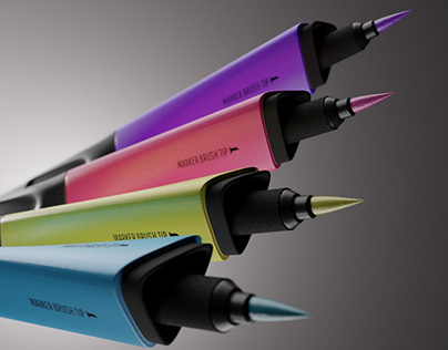 Dual Blend Markers - Product Design